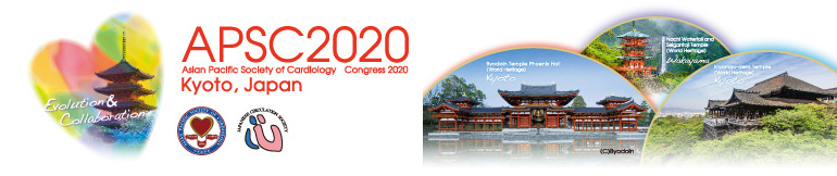 APSC2020 Asian Pacific Society of Cardiology Congress 2020 Kyoto, Japanese