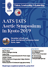AATS/JATS Aortic Symposium in Kyoto 2019