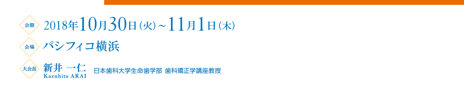 the 77th Annual Meeting of the Japanese Orthodontic Society a session