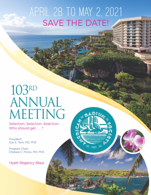 ARS 2021 Annual Meeting
